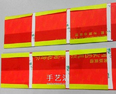 鞭炮挂饰手工制作教程 纸鞭炮怎么做的方法 -  www.shouyihuo.com