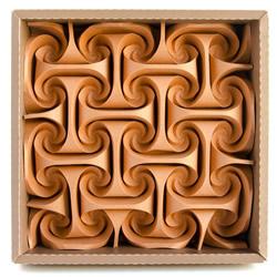 结合日本药玉与数学几何之美 立体纸球花艺术