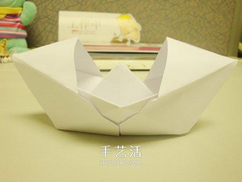 簡單烏篷船怎麼折教程 烏篷船摺疊方法圖解