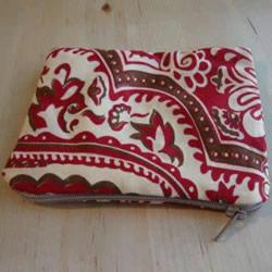 双层拉链布包的做法 自制布艺拉链包DIY图解