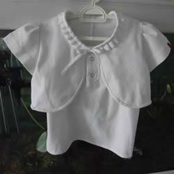 旧衣改造:男款T恤改造儿童坎肩背心套装