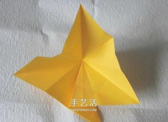 珠光海螺怎麼折的教程 手工摺紙海螺的步驟圖