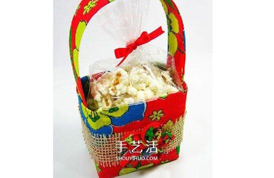 牛奶盒廢物利用 手工製作手提籃收納盒的方法