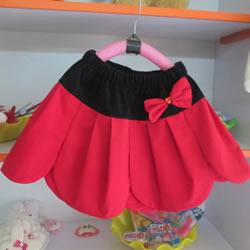 自制花瓣裙的方法图解 手工儿童花瓣裙的做法