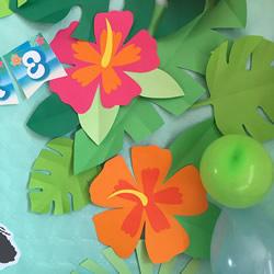 幼儿园手工制作花丛 简单手工卡纸花丛的做法