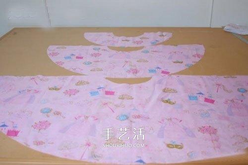 自製荷葉邊裙的方法 小女孩荷葉邊裙子做法
