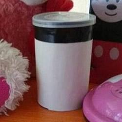 薯片桶废物利用DIY 手工制作简易存钱罐图解