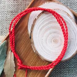 三生绳手链编法图解 怎么用红绳编三生手链