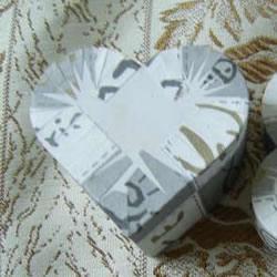 简单又好看的爱心礼品盒手工制作方法图解
