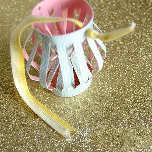 内外双层灯笼做法图解 过年纸灯笼手工制作 -  www.shouyihuo.com