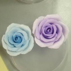 超轻粘土玫瑰花教程图解 让人惊艳的渐变色!