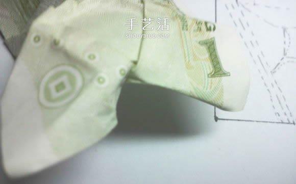 鞋子樹苗的摺紙方法 這樣的組合很有趣!