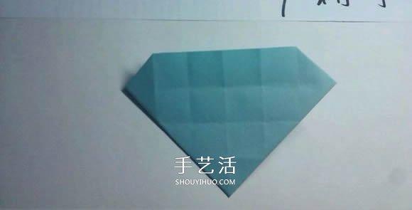一步一步教你折!详细川崎玫瑰折纸过程图解 -  www.shouyihuo.com