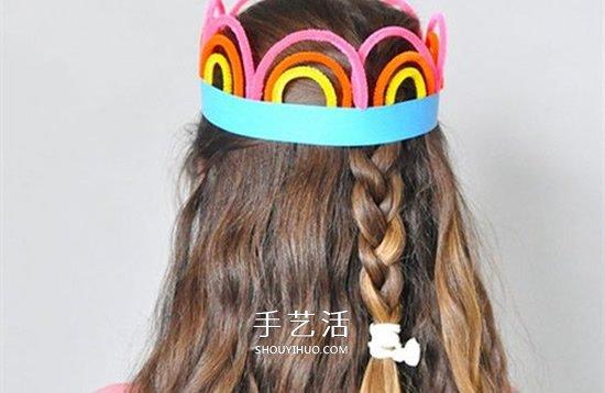 让你变身美丽公主!扭扭棒手工制作皇冠教程 -  www.shouyihuo.com
