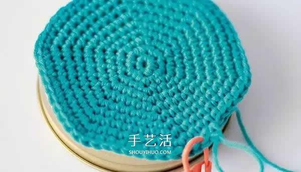 有爱的钩针编织!把玻璃罐做成卡通娃娃储物罐 -  www.shouyihuo.com