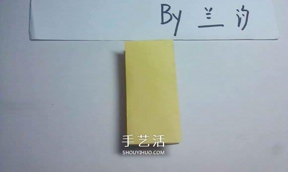 详细的折纸图解过程 带你学立体兔子的折法 -  www.shouyihuo.com