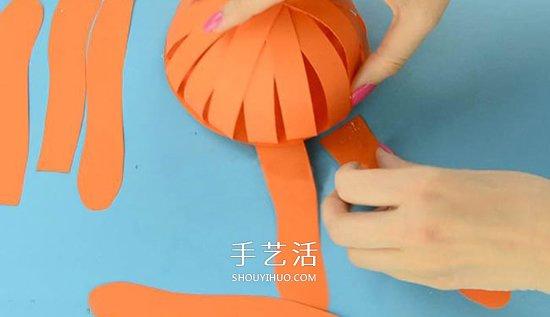 幼兒園手工章魚的製作 簡單卡紙章魚怎麼做