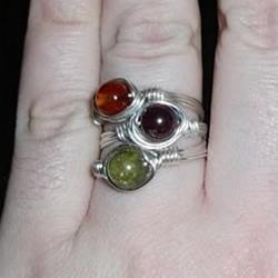 自制完美金属丝作品 金属丝绕线戒指DIY详解