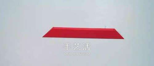 變身神出鬼沒小忍者!簡單又漂亮紙飛鏢的折法