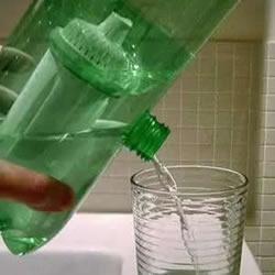 简单雪碧瓶手工制作 自制家庭净水器的方法