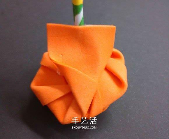 海綿紙折玫瑰花步驟 手工海綿紙花也能這麼美!