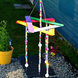 自制雪糕棍风铃的方法 简易手工风铃制作教程