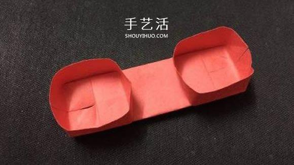 幼兒手工摺紙教程 可愛電話聽筒的折法圖解