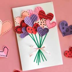 简单容易学!儿童手工制作母亲节爱心贺卡教程