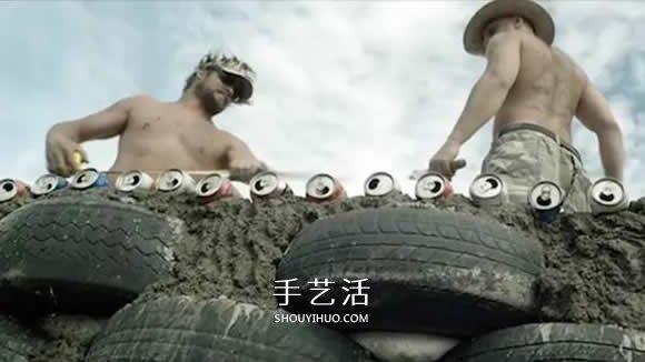 倡导保护环境!这位七旬老人收集垃圾建房子 -  www.shouyihuo.com