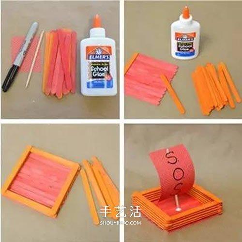 用雪糕棍做船的方法 3種簡單玩具小船製作