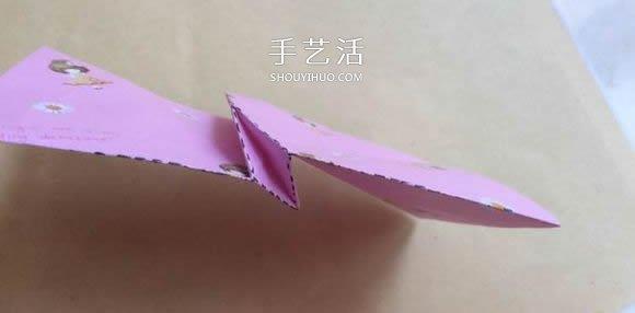手工川崎玫瑰摺紙圖解 步驟圖片拍攝很清晰!