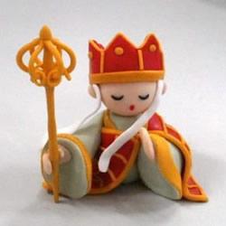 软陶唐僧制作教程及图解 非常可爱精致的人偶