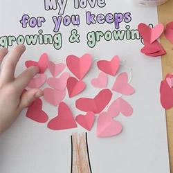 母亲节爱心树贺卡做法 DIY简单好看母亲节卡片