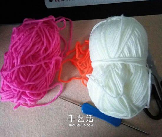 拼色嬰兒襪子的編織教程 適合幾個月大寶寶