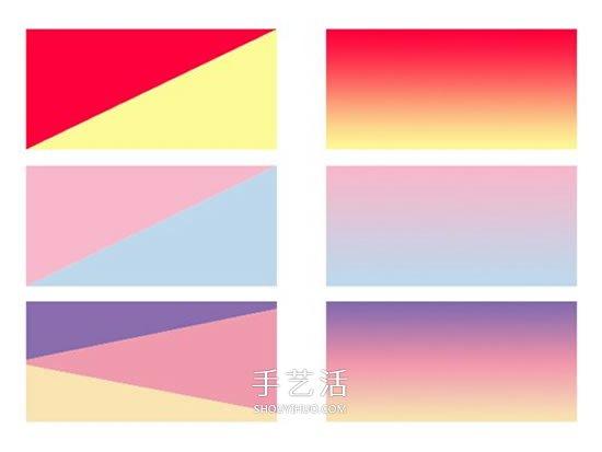 超轻粘土怎么做渐变色 附带渐变色的制作色谱 -  www.shouyihuo.com