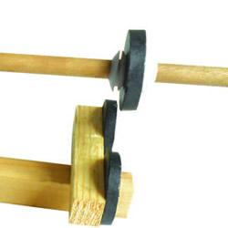 利用磁铁异性相斥原理 制作悬浮空中的小木棍