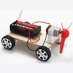 电动风力小车怎么做 DIY风力电动小汽车玩具