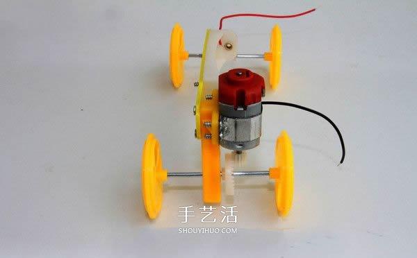 簡單有趣物理小製作 自製可以跑的電動小汽車