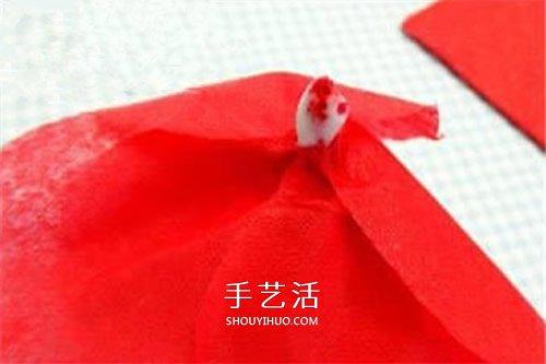 幼兒園母親節紙花製作 簡易餐巾紙花的做法