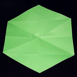 折纸时如何获得正六边形的纸张 分享3种做法