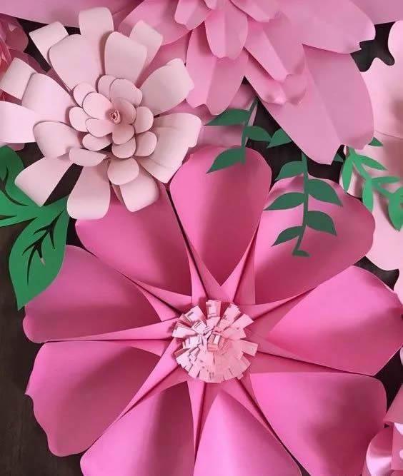 手工纸花怎么做 超多美丽纸花制作图解大全 -  www.shouyihuo.com