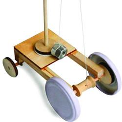 重力小车制作详细教程 儿童手工重力车DIY方法
