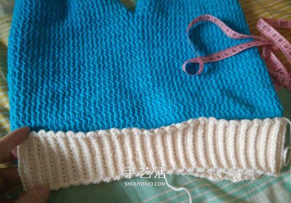 寶寶背帶褲編織圖解 鉤針編織兒童毛線背帶褲