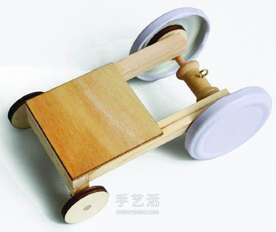 重力小車製作詳細教程 兒童手工重力車DIY方法