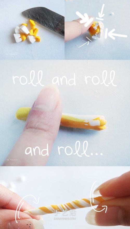 超可爱的粘土饰品 超轻粘土DIY制作复活节彩蛋 -  www.shouyihuo.com