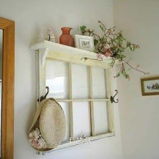 12箇舊窗框創意改造 這就是你喜歡的懷舊風格