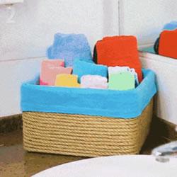 不要的鞋盒怎么利用?把鞋盒变成浴室收纳盒