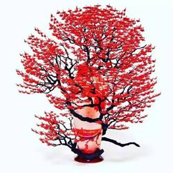 牛人折纸这么玩!上个千纸鹤制作精美盆景树