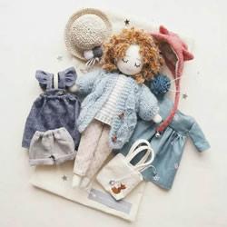 自制换装娃娃的方法 几块布片就让孩子玩不停