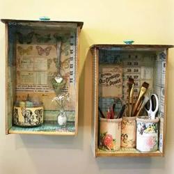 创意旧抽屉改造DIY 简单做成好看又实用家具